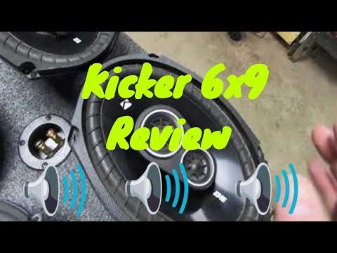 Kicker DS693 6x9 review/sound test