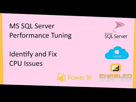 Tuning SQL Server :-Identifying And Fixing The CPU Issue