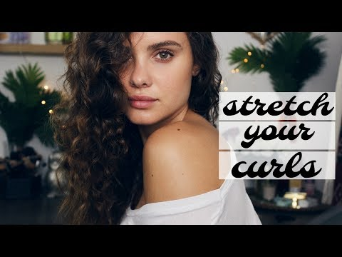 How to Stretch Your Curls NO HEAT