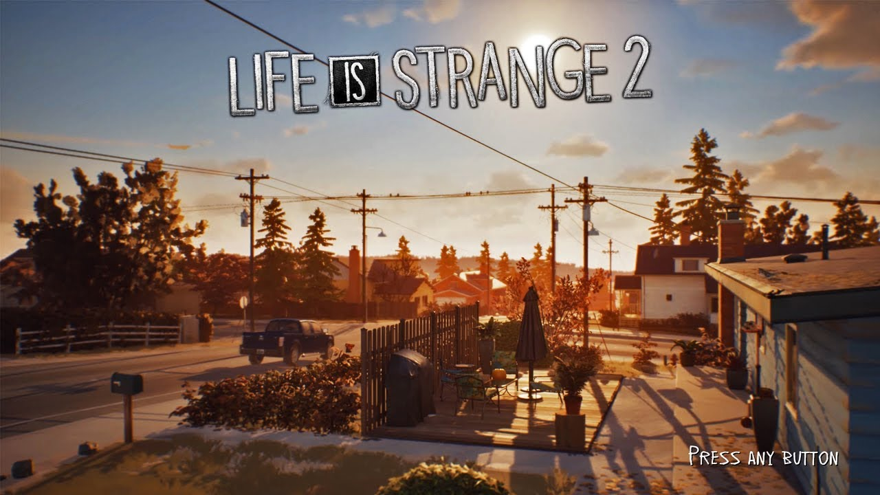 Life Is Strange 2 Ost Main Menu Official Soundtrack 1 Hour