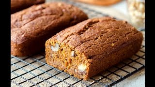 Pumpkin Banana Nut Bread!