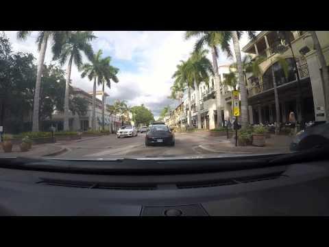Naples Florida Downtown Drive Thru