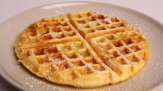 Homemade Waffles Recipe - Laura Vitale - Laura in the Kitchen Episode 326