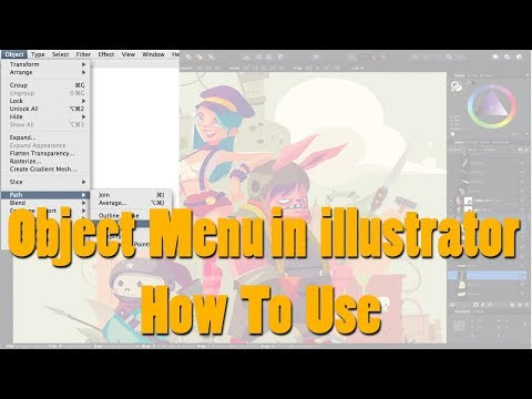 Object Menu Bar In Illustrator|| Illustrator Tutorial|| Object Menu thumbnail