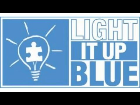 Awesome Light It Up Blue! Song Backing Track Lakewood School Autism Speaks!    YouTube