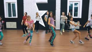 LOBODA- К Черту Любовь-(Sharapov).Jazz Funk by Елена Безрученко.All Stars Junior Workshop 03.2016