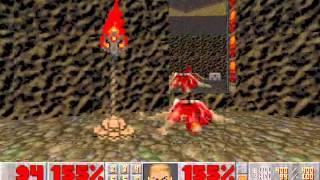 Doom II (100%) Walkthrough (Map28: The Spirit World)