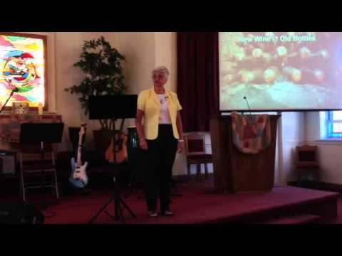 """New Wine, No Old Bottles"" by Pat Moore at Unity in Greensboro, August 11, 2013"