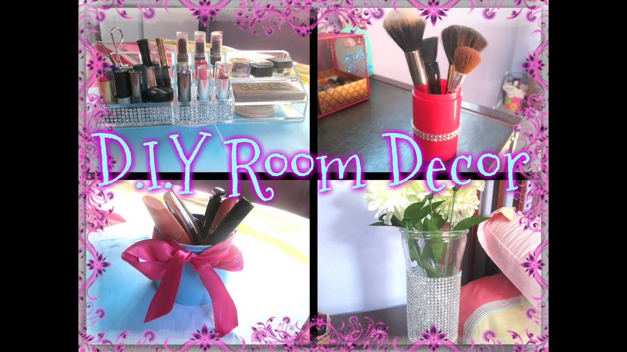 D I Y Easy Vanity Room Decor Ideas - YouTube