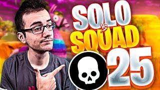 👑 VUELVE ORO MACIZO 👑 SOLO VS SQUAD *25 KILLS* | FORTNITE