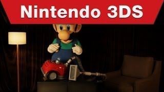 Nintendo 3DS - Luigi's Mansion: Dark Moon Poltergust 5000 Reveal Video
