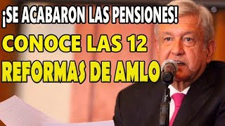 Se acabó el fuero y las pensiones para expresidentes