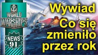 Wywiad - co się zmieniło przez rok w World of Warships