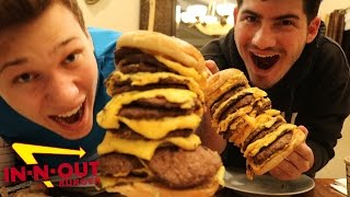 16 X 16 IN N OUT BURGER CHALLENGE!