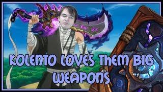 Hearthstone: Kolento loves them big weapons (kingsbane rogue)