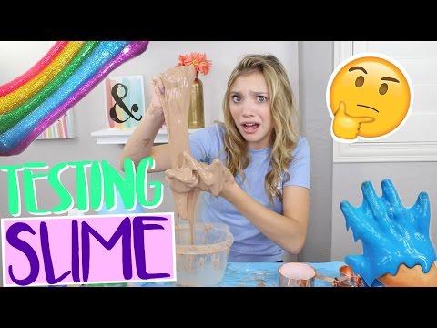 Testing WEIRD VIRAL Slimes Part 2! (NO BORAX!) | Sasha Morga