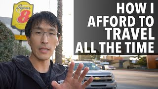 How I Afford to Travel all the time (+tips for digital nomad lifestyle)