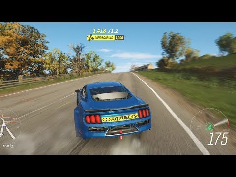 Forza Horizon 4 - Hard Drifting Game Ford Mustang thumbnail