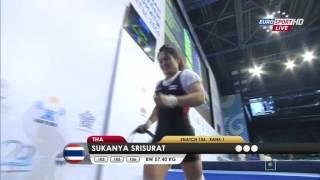 Тяжелая атлетика. Чемпионат Мира. Женщины до 58 кг. 11.11.2014 год.