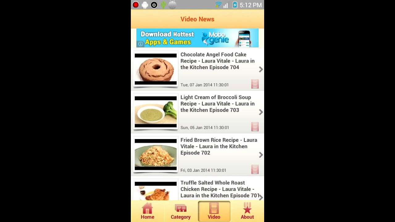 Project template news app template for android rss feed reader project template news app template for android rss feed reader app v12 new youtube forumfinder Choice Image