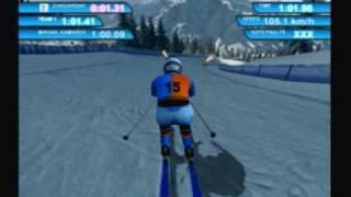 Winter Sports 2: The Next Challenge (PS2) Downhill Skiing