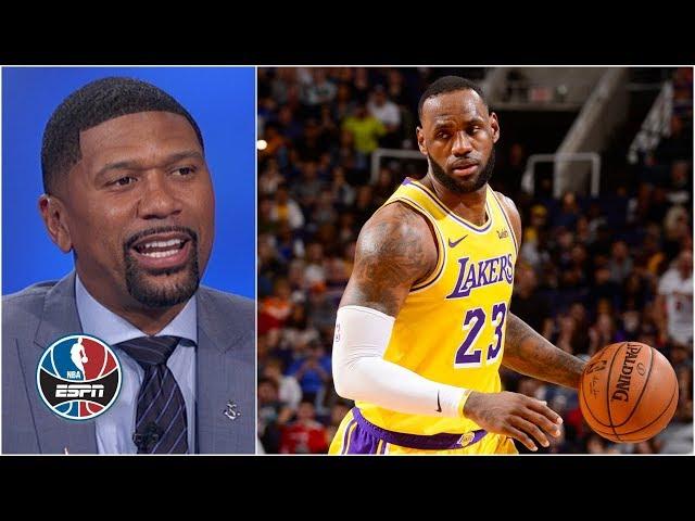 Jalen Rose schools LeBron James, Alex Len and the 76ers defense in 'Class of 81' | NBA Countdown