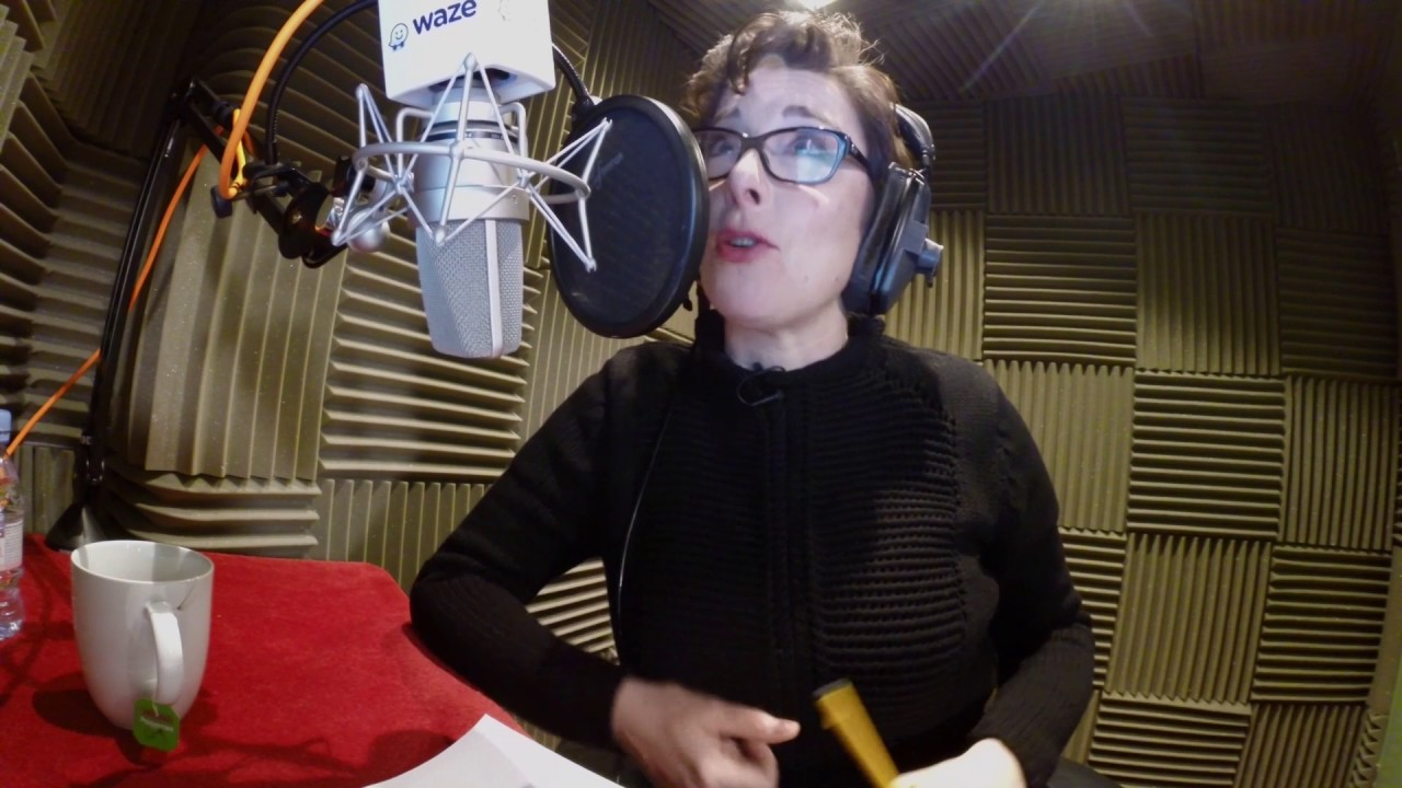 Waze Voice: Sue Perkins