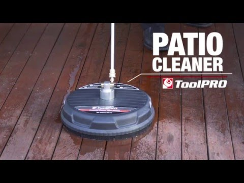 toolpro pressure washer attachment patio cleaner