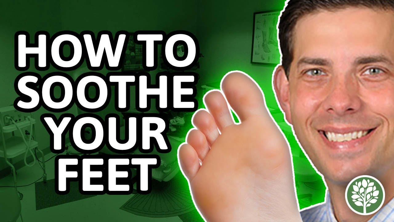 Encourage-Educate-Entertain: How to Soothe your Feet