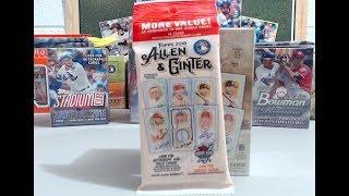 2018 Topps Allen & Ginter Blaster Box & 1 Value Pack Break