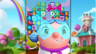 Candy Crush Friends Saga Level 444 (No boosters)