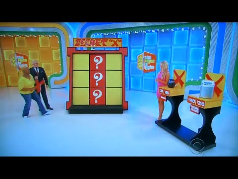 "The Price is Right - Secret ""X"" - 5/5/2016"