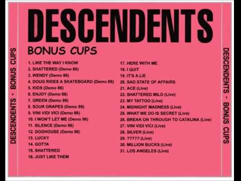 Descendents - Bonus Cups (FULL ALBUM) 1080P