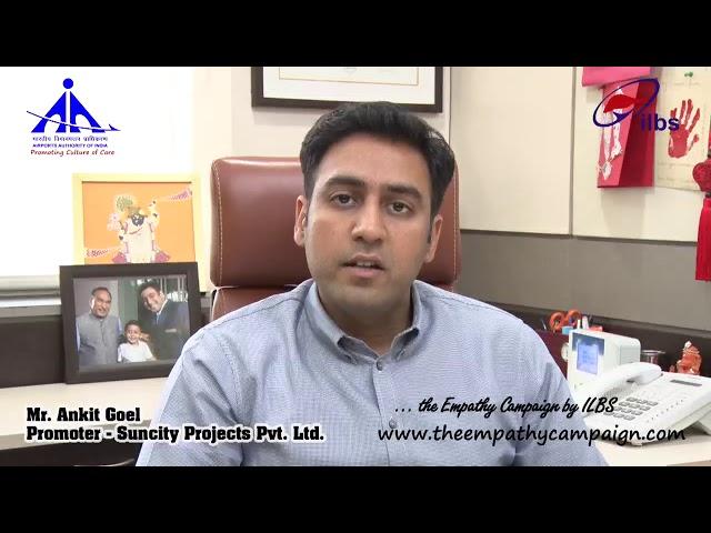 Message From Mr. Ankit Goel,  Suncity Group