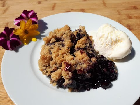 blueberry-crumble