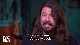 Foo Fighters' Dave Grohl: 'In my house, I've got a full rock band and they're all women'