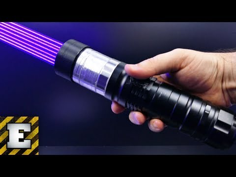Thumbnail: LOOK WHAT WORLD MOST POWERFUL LASER IS ABLE TO DO !!!