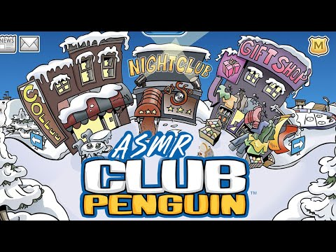 ASMR Playing Club Penguin (Whispered)