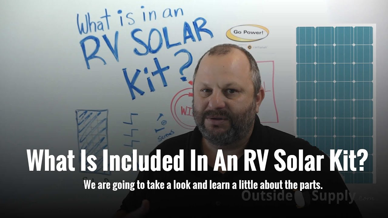 Learn More About RV Solar Kits