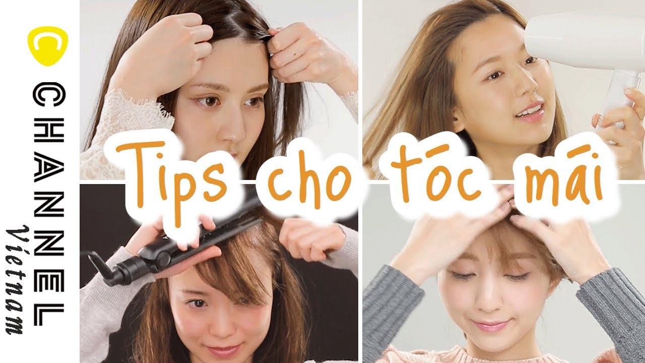 Bí quyết cho tóc mái xinh xắn