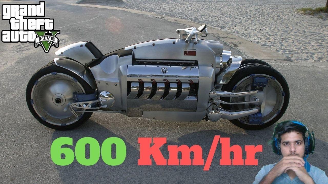 Gta 5 Fastest Bike In The World Youtube