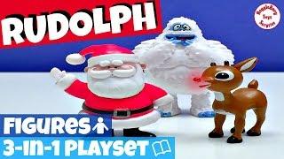 Rudolph Toys | Snowman Toys | Santa Claus Toys | Christmas Figurines | Rudolph Hermey Bumble
