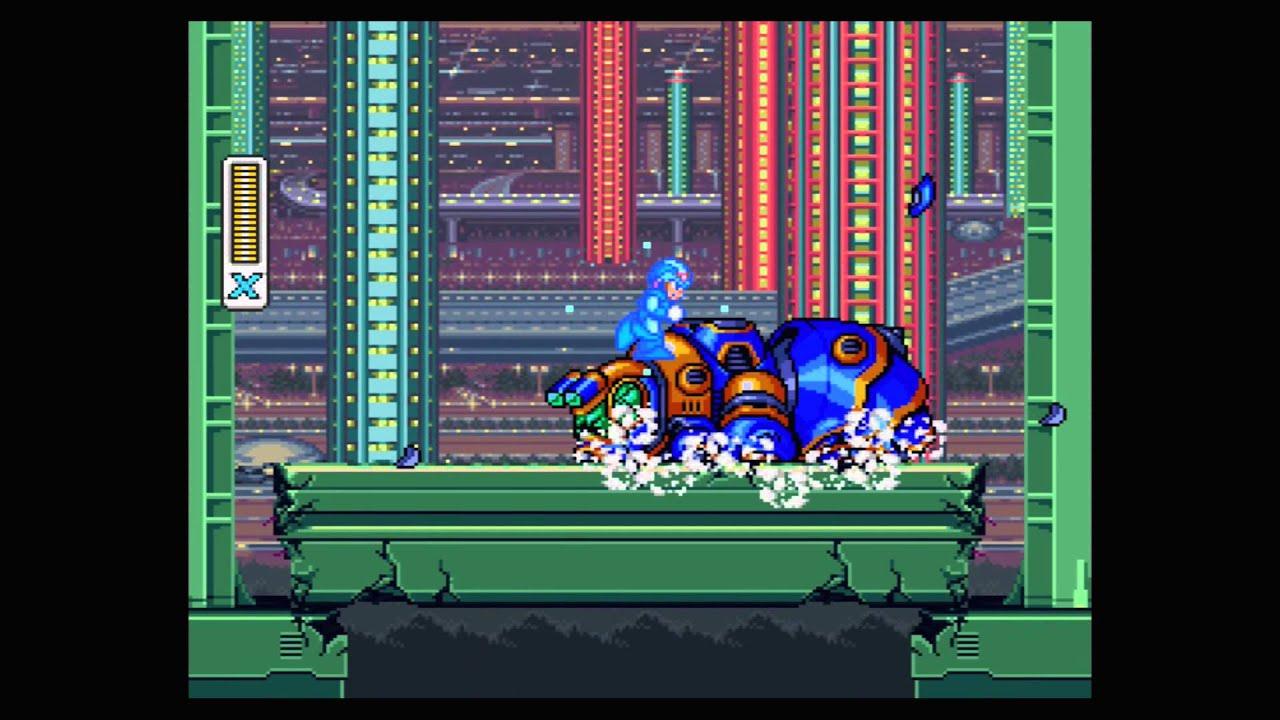 Nintendo wii u virtual console mega man x youtube - Megaman x virtual console ...