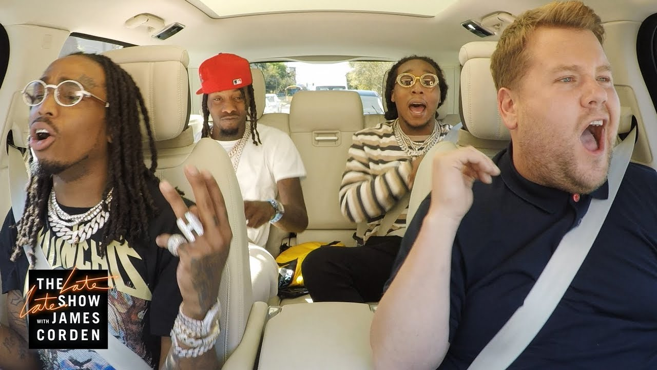 Coming Tuesday Migos Carpool Karaoke Youtube