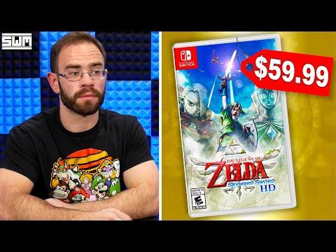 Zelda Skyward Sword HD Is Overpriced?
