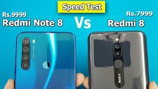 Redmi Note 8 vs Redmi 8 Speed Test / Comparison || Hardware View / Antutu Benchmark Scores