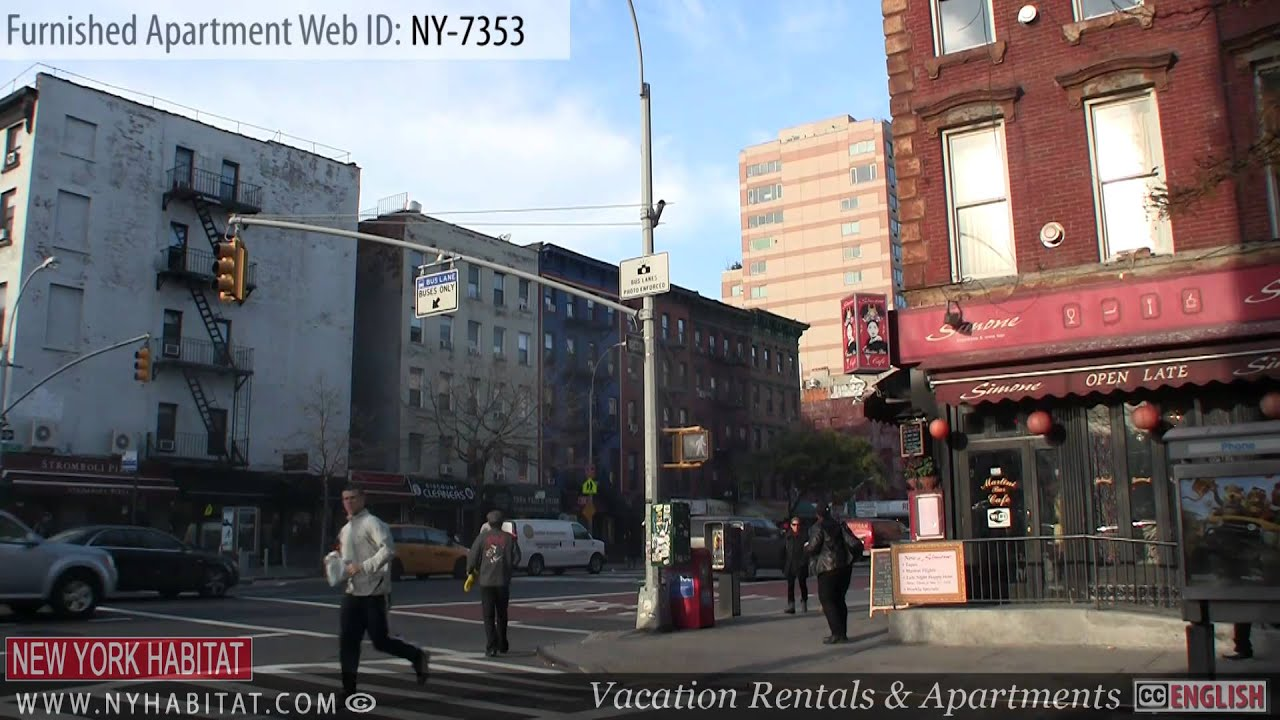 new york city video tour of a furnished apartment on east 13th