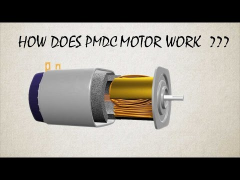 How Does Permanent Magnet DC Motor or PMDC Motor work ?