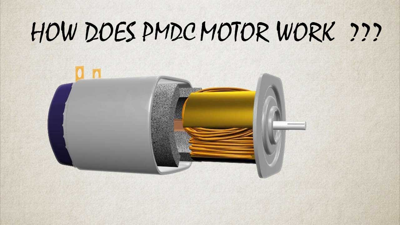 maxresdefault how does permanent magnet dc motor or pmdc motor work ? youtube