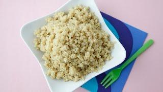 Cook Perfect Quinoa - Quick Cooking Tips - Weelicious